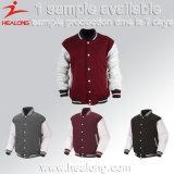 Куртка бейсбола человека печатание сублимации Sportswear Healong облегченная