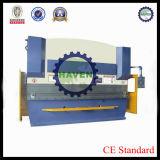 CNCの油圧曲がる機械装置はステンレス製シート・メタルのくねりの鉄の版を使用した