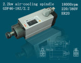 기계 Tool Change Spindle 3.5kw 공기 Cooling Spindle