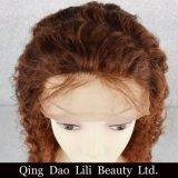 Peluca profunda del frente del cordón de los productos de la peluca del pelo de la onda del pelo de la Virgen del precio de fábrica #4/30 para la venta