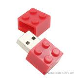 Blocos de apartamentos Pendrive 4GB 8GB 16GB 32GB 64GB da movimentação da pena do brinquedo do menino dos desenhos animados da movimentação do flash do USB