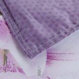 Conjuntos modernos baratos 100% del lecho del algodón del adulto con la hoja plana del shell del consolador o el impostor ajustado de la hoja y de la almohadilla