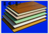 12/15/18mm Wood Grain Melamine Particleboard met E0/E1 Glue voor Decoration/Furniture