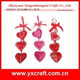 Decorazioni d'attaccatura della stanza del biglietto di S. Valentino del cuore del biglietto di S. Valentino della decorazione del biglietto di S. Valentino (ZY13L889-1-2-3)