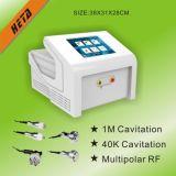 8 equipamento H-1001 da beleza da pele do punho de Cavication RF da tela de toque 5 da polegada