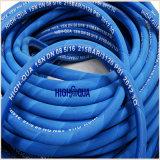 Industrie Caoutchouc Flexible hydraulique à haute pression, Tuyau souple à la surface en tissu