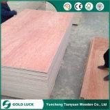 Madera contrachapada de Okoume de la ciudad de Linyi, madera contrachapada de Bintangor, madera contrachapada comercial