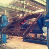 トレーラータンクのための不規則な整形対の柱の溶接のポジシァヨナー