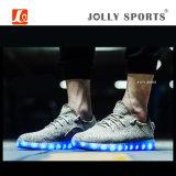 方法LEDレディース人のための軽い余暇のスポーツのダンスの靴