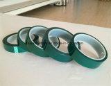 Mascarilla de silicona para mascotas de alta temperatura verde y cinta de empalme