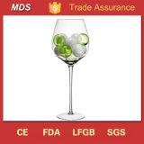 De hand Geblazen Lange Goedkope Wijn Gevormde Vaas van het Glas