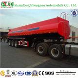 Koolstofstaal 3 van Shengrun De Semi Aanhangwagen van de Tanker van de Brandstof van de As 40m3