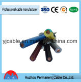 Cordon flexible de câblage isolé par PVC de câble électrique de contrôle de Kvv 450/750V 14X2.5mm2 de prix usine