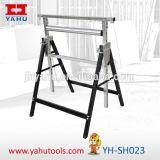 Scie à chaîne à rouleaux Folding Adjustable Cutting Sawhorse / Carpenters Bench