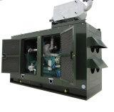 CHP를 가진 16-80kw 침묵하는 유형 Biogas 발전기 세트