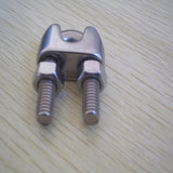 ステンレス鋼のハードウェアのDIN741ワイヤーロープクリップ付属品