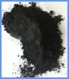 El polvo de grafito amorfo