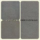 Grande cuoio impresso del PVC del reticolo di Leetchi per il sofà