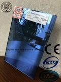 """Vetro """"float"""" riflettente blu con l'iso del Ce (4mm - 10mm)"""