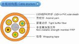 Cavo di fibra ottica di sblocco dell'interno per la trasmissione di Multiway