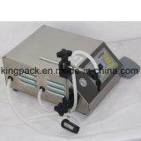Máquina de rellenar líquida de la bomba magnética semiautomática