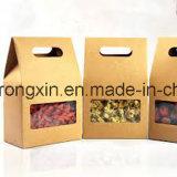 Documento rivestito del sacchetto di imballaggio per alimenti del Kraft del singolo PE laterale