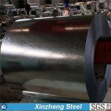 Bobina de acero galvanizada del rodillo de acero del material de construcción de Dx51d+Z