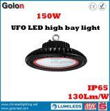 Innenlampe 130lm/W 60W 100W 150W des lager-Fabrik-Werkstatt-Stadion-Ausstellung-Supermarkt-Station-Einkaufszentrum-200W Highbay hohes Bucht-Licht UFO-LED