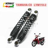 Amortisseur d'arrière de la moto Ww-9731 pour YAMAHA C8 Lym-110-2