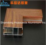 Transferência de grãos de madeira perfil de alumínio para portas e janelas