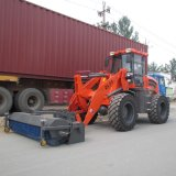Zl20 Wheel Loader met Sweeper en Ce
