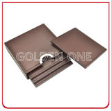 Promotion Gift를 위한 최상 Genuine Leather Coaster Set