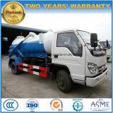 Mini camion 3000 L camion della fogna di vuoto 4X2 3 M3 di Forland di aspirazione delle acque luride