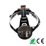 18650 재충전용 알루미늄 합금 IP65 야영 크리 사람 R5 10W LED 맨 위 램프