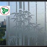 Стекло Acid-Etched стеклянного матированного стекла искусствоа сделанное по образцу (4-19mm) для украшения