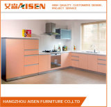 Customized Color Bakery Painted Lacquer MDF Kitchen Cupboard