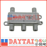 Splitter CATV/CATV tronco toca/ CATV de inserción de potencia