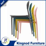 カスタム多彩PPのスタック可能レストランの現代プラスチック椅子