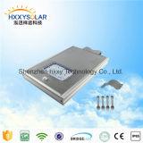 5W-120W todo em uma luz de rua solar do diodo emissor de luz com sensor