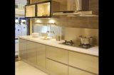 Gabinete de cozinha UV lustroso elevado (ZX-019)