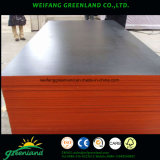 Película de encofrados de madera contrachapada de color marrón con buena calidad para ser utilizado para la construcción impermeable