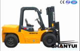 Shantui 7 toneladas de carretilla elevadora con el motor importado de Japón