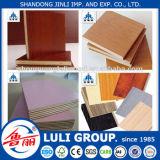 madera contrachapada laminada 6m m de la fábrica de la madera contrachapada de /Melamine del grupo de China Luli
