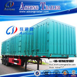 2-3 차축 40-50t 밴 Type Box Transport 무겁 의무 Semi Trailer (LAT9406XXY)