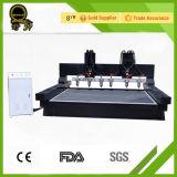 Máquina 1318 de cinzeladura de pedra do router do CNC do granito de mármore de pedra resistente da máquina do CNC