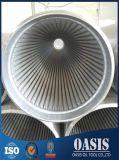 Tubulação de filtro do fio do poço de água do aço inoxidável 316L
