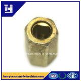 Noix d'OEM de fournisseur d'or de la Chine des dispositifs de fixation