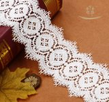 La conception de la dentelle fantaisie 8cm de largeur dentelle de coton