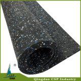 屋内使用のための着色されたEPDMの微粒の体操ゴム製床張りのロールスロイス