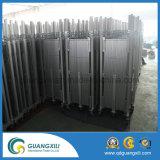 Frontière de sécurité provisoire mobile en aluminium